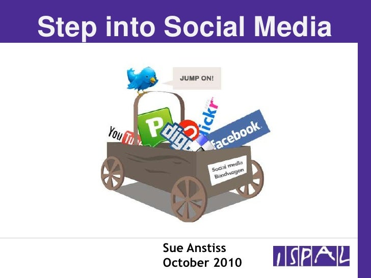 ISPAL Step into Social Media Oct 21st