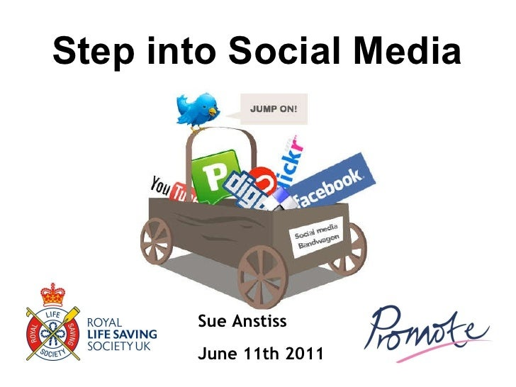 Sue Anstiss June 11th 2011   Step into Social Media