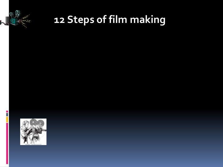 12 Steps of film making