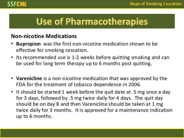 Smoking Cessation Drugs