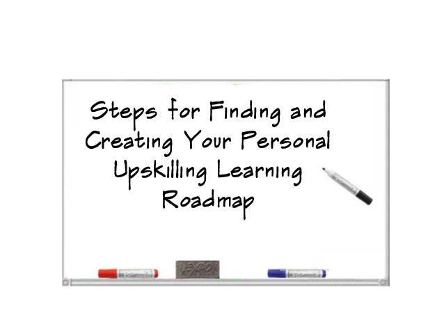 Steps for Finding andCreating Your PersonalUpskilling LearningRoadmap