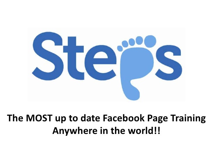The MOST up to date Facebook Page Training Anywhere in the world!!<br />