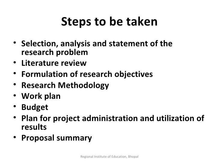 steps of problem formulation in research Read this essay on formulation of research research consists of numerous steps, from problem formulation to a presentation of findings to a tentative conclusion.
