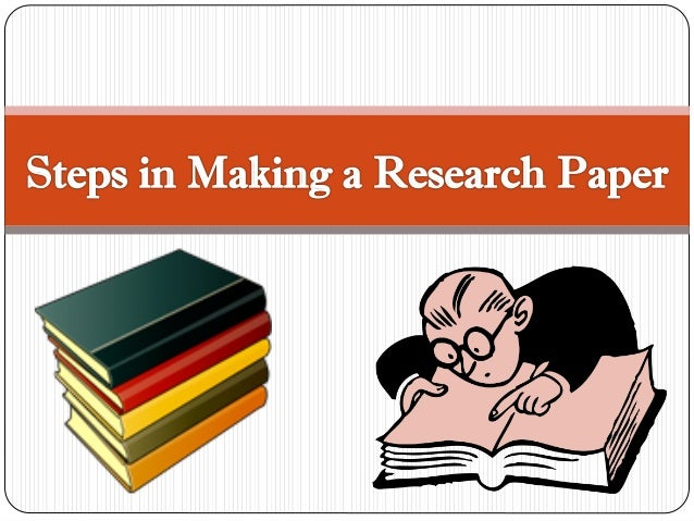 steps of a research paper
