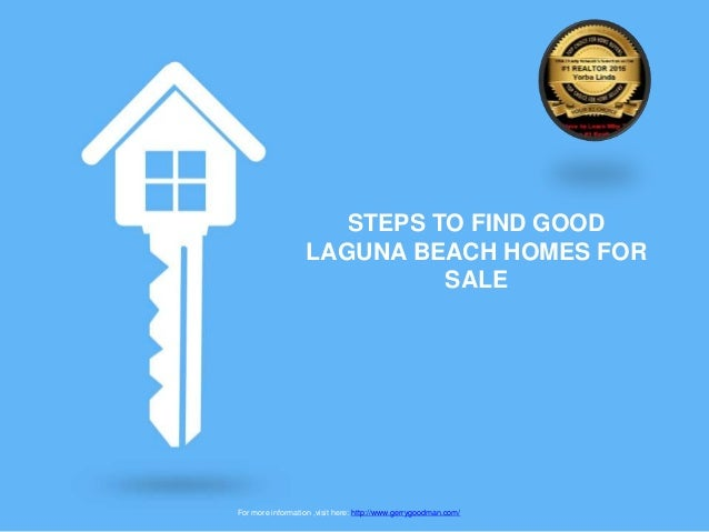 Steps to find good laguna beach homes for sale for Laguna beach homes for sale by owner