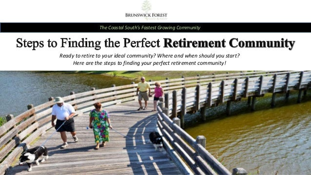 The Coastal South's Fastest Growing Community Ready to retire to your ideal community? Where and when should you start? He...
