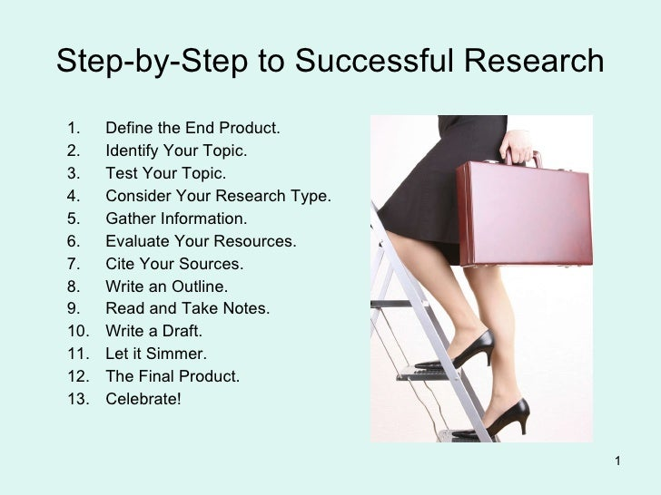 Step-by-Step to Successful Research