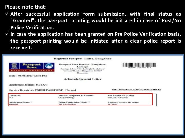 Reference Letter Format For Passport Police Verification