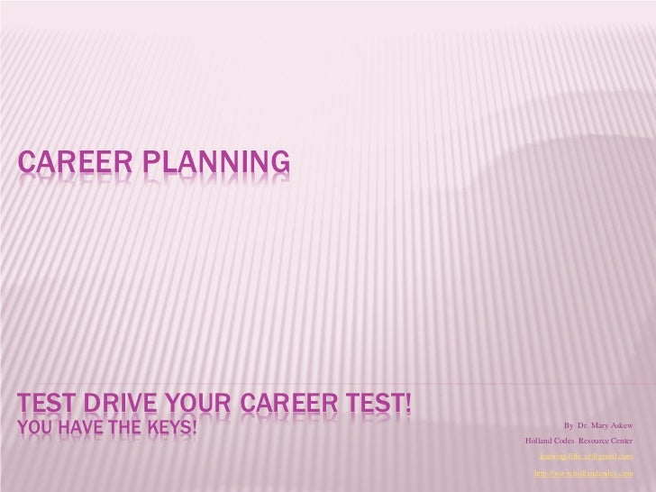 Steps to successful career planning