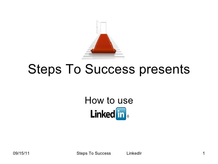 Steps To Success Presents New