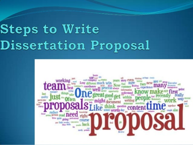 How to write dissertation proposal writing