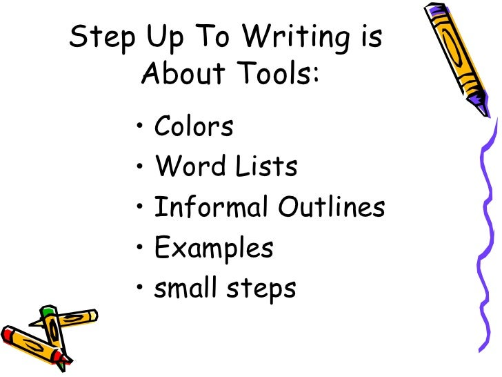 step up to writing paragraph Step up to writing - t-chart for summary paragraph by peter whitmore - october 27, 2011.