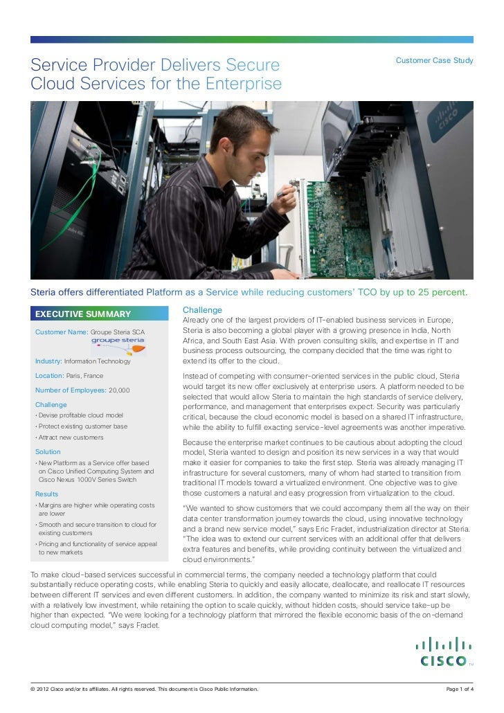 Service Provider Delivers Secure                                                                                          ...