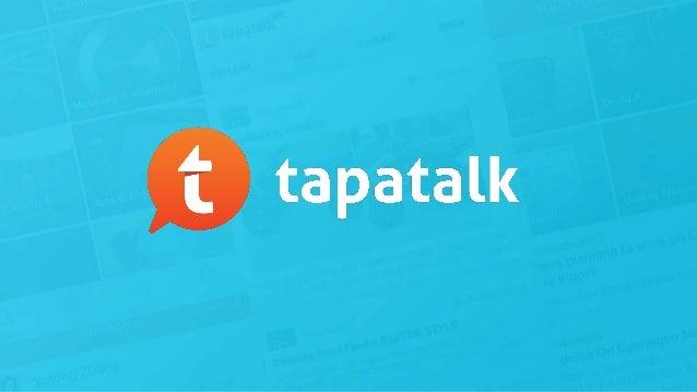 ForumCon: Tapatalk Tech Fest, Eric Sternbach