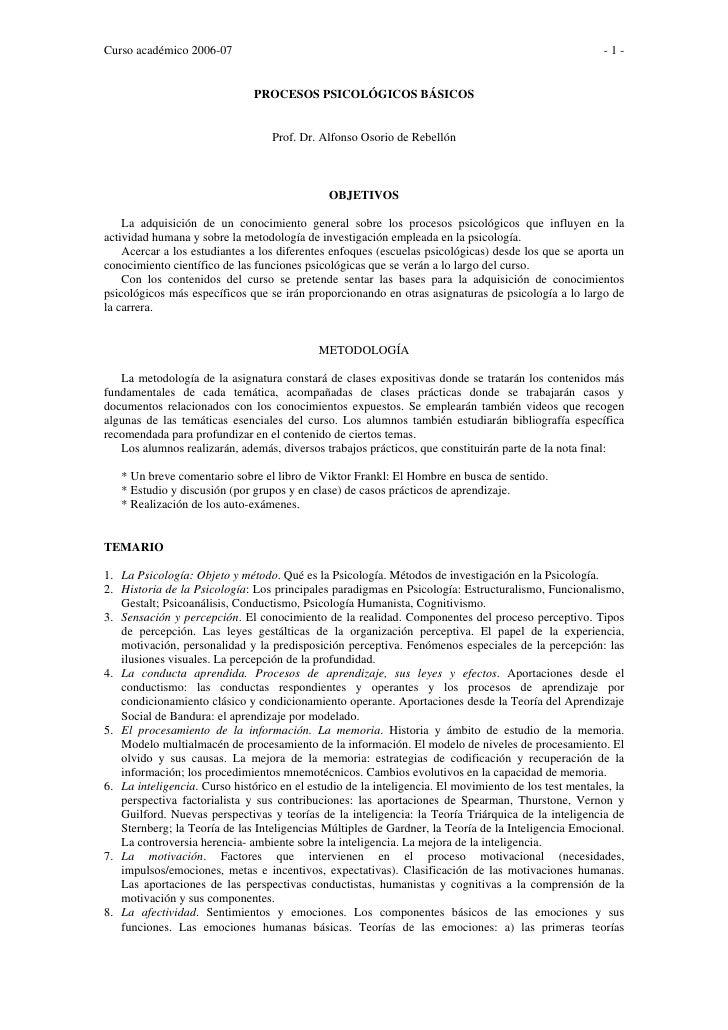 Curso académico 2006-07                                                                                -1-                ...