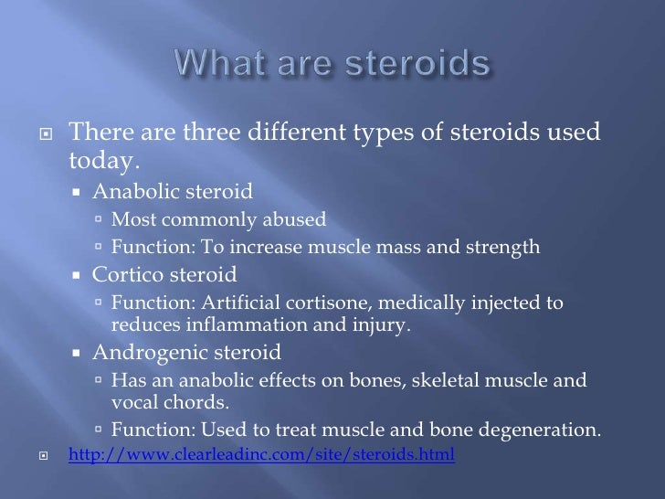 types of anabolic steroids drugs