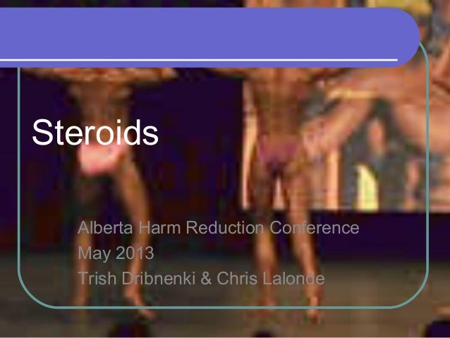 Steroids Alberta Harm Reduction Conference