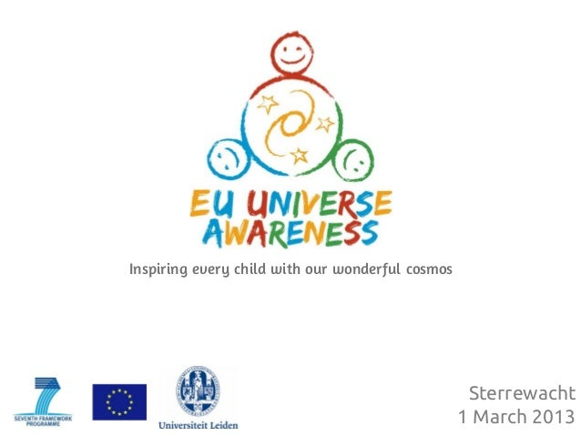 Inspiring every child with our wonderful cosmos                                                   Sterrewacht             ...