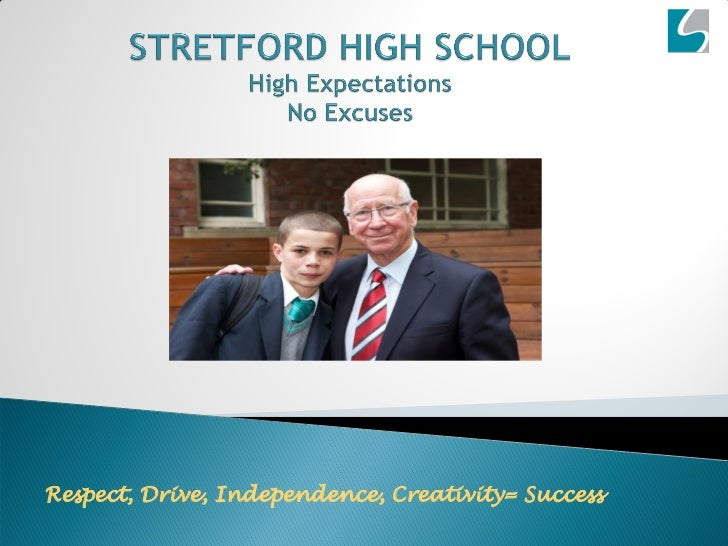 Respect, Drive, Independence, Creativity= Success