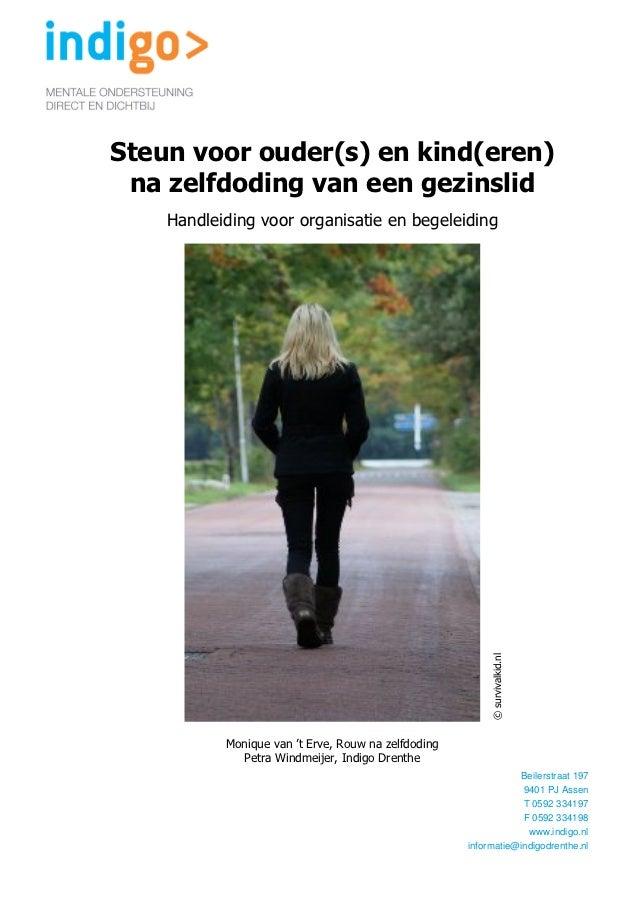 Steun voor ouder(s) en kind(eren) na zelfdoding (m.van 't erve & p.windmeijer)