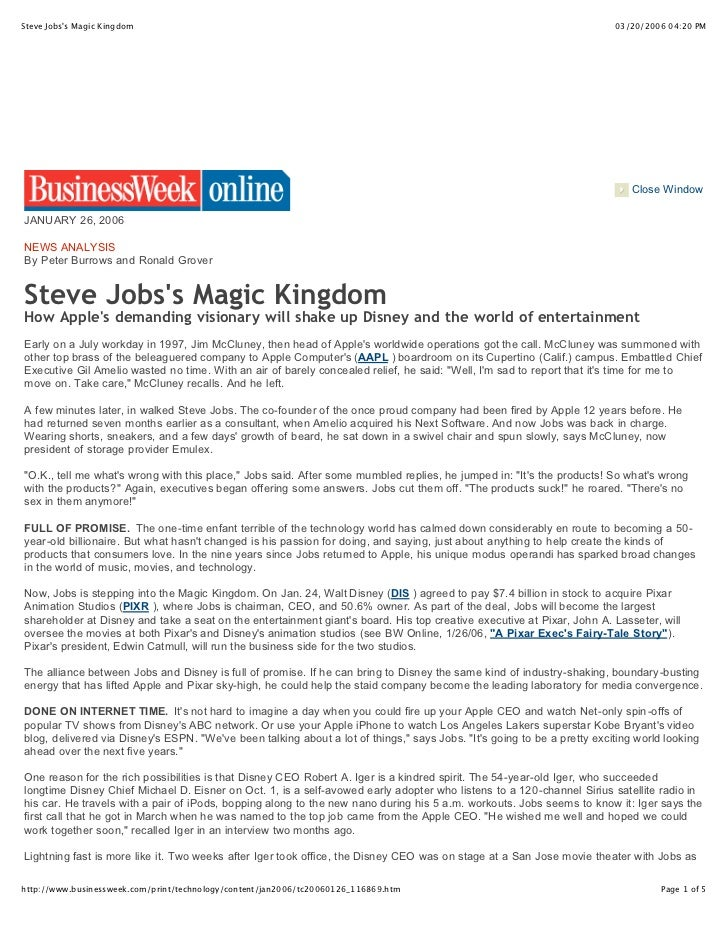 Steve Jobss Magic Kingdom                                                                                               03...