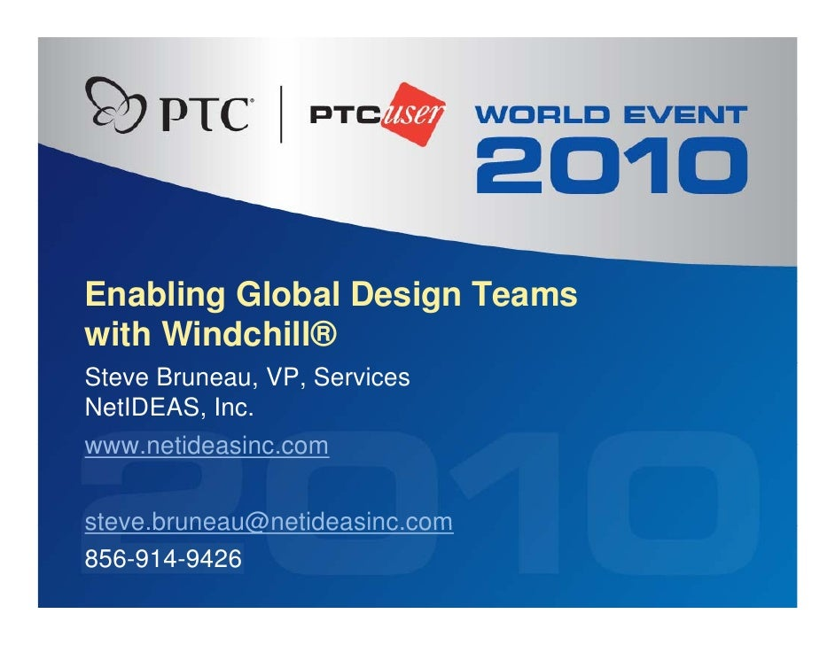 NetIDEAS Inc. - Enabling Global Design Teams with hosted Windchill
