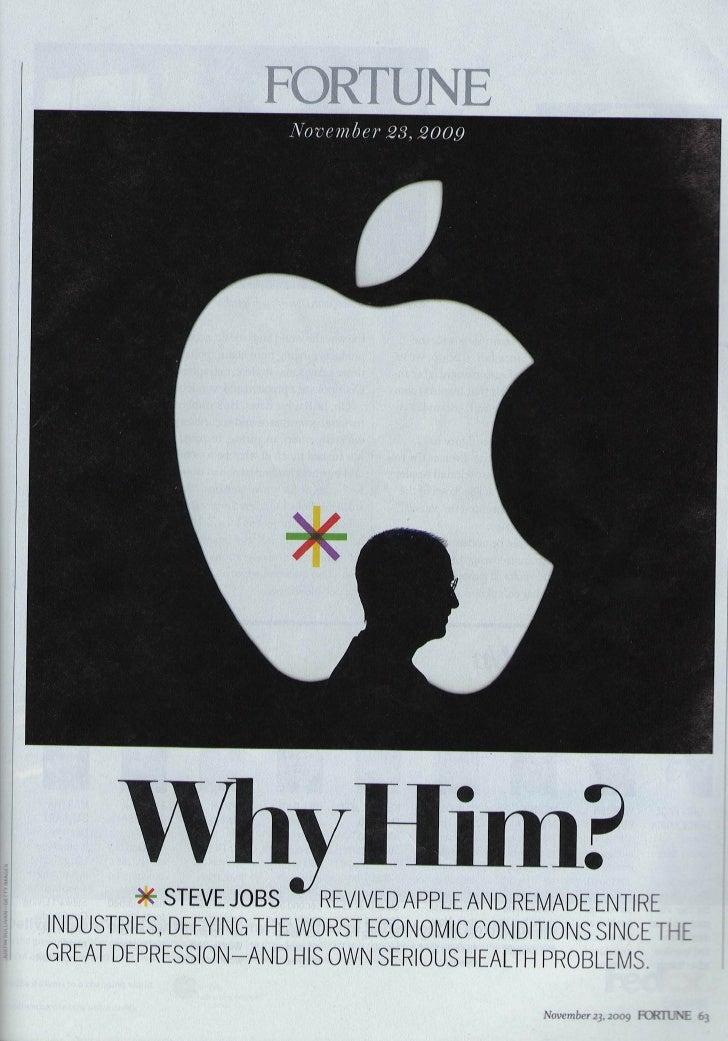 Steve Jobs on Fortune