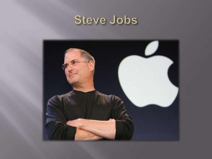 Steve Jobs <br />