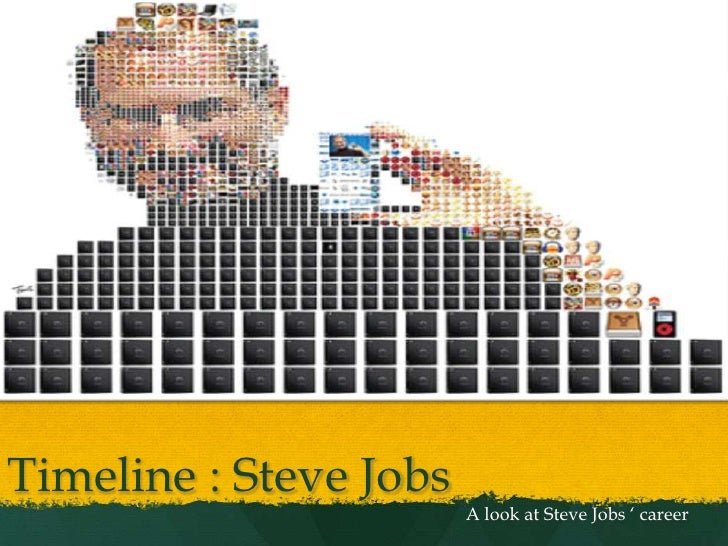 Timeline : Steve Jobs<br />A look at Steve Jobs ' career<br />