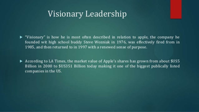 essay on visionary leadership