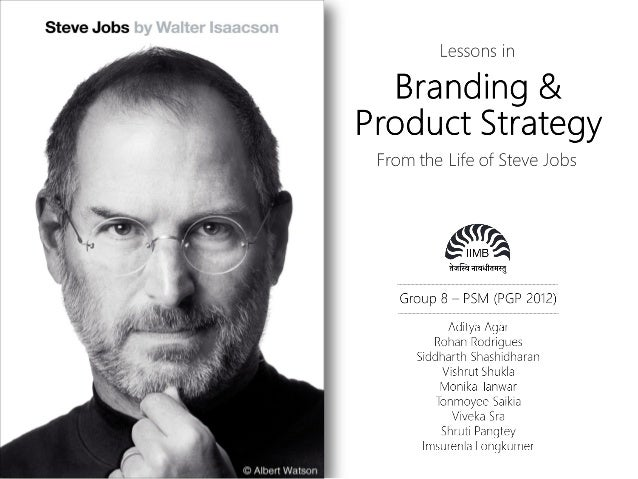 'Steve Jobs' Book Review: Product Strategy & Management