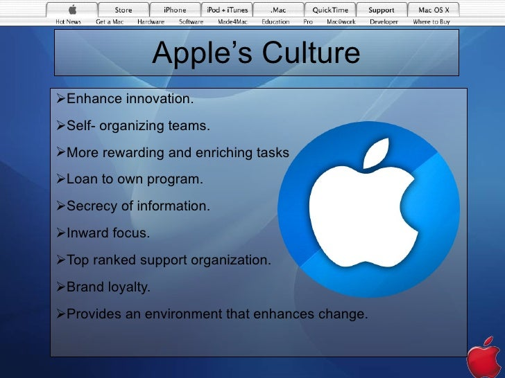 corporate culture at apple We embrace the diversity of humanity and all it brings to innovation because the  best way the world works is everybody in nobody out.
