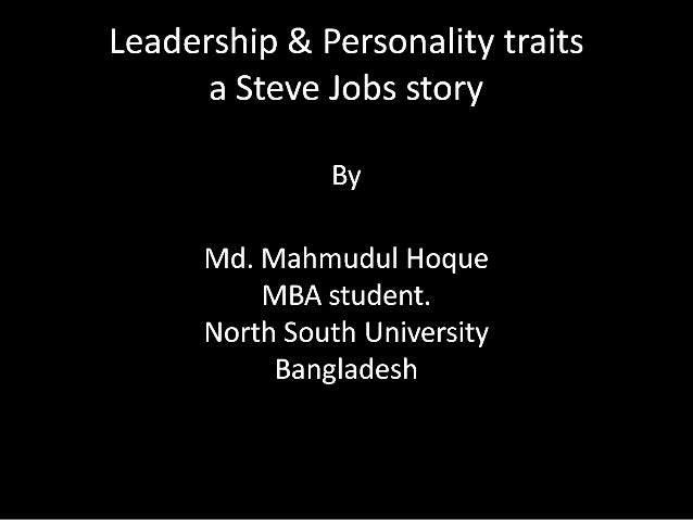 the big five personality dimensions of steve jobs The phenomenal bestseller about apple co-founder steve jobs from the author of the  together jobs's personality and products  good at the big.