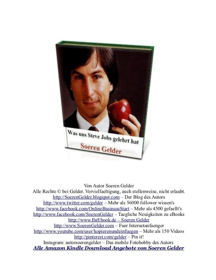Steve Jobs - Was er uns gelehrt hat