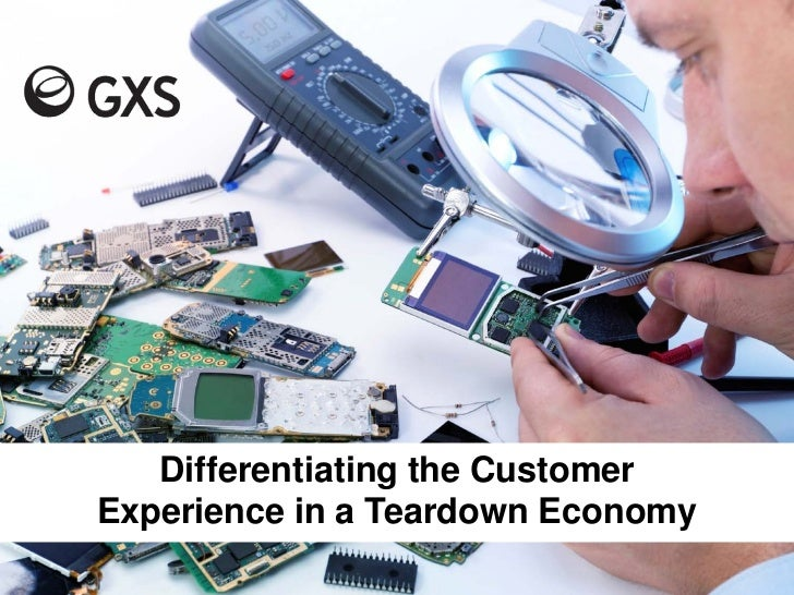 Differentiating the CustomerExperience in a Teardown Economy                        March 15, 2011   Slide 1