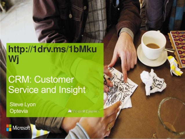 CRM in Social Housing: Customer Service & Insight