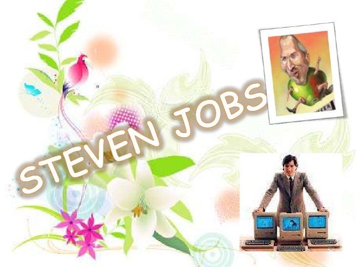 STEVEN JOBS<br />