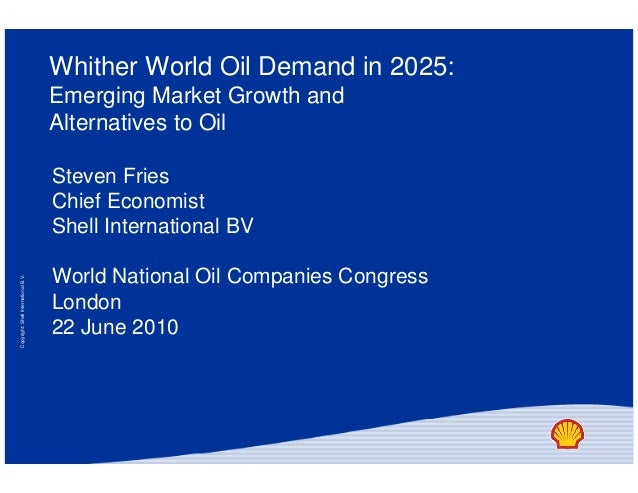 Steven fries's presentation slides from the 2010 World National Oil Companies Congress