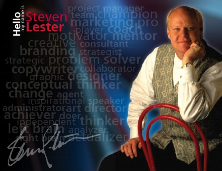 Steven Lester Creative Director