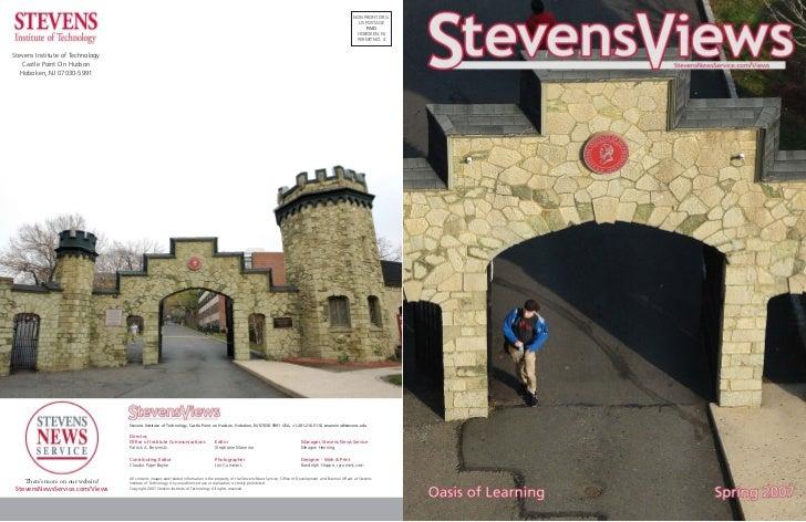 StevensViews, Spring 2007