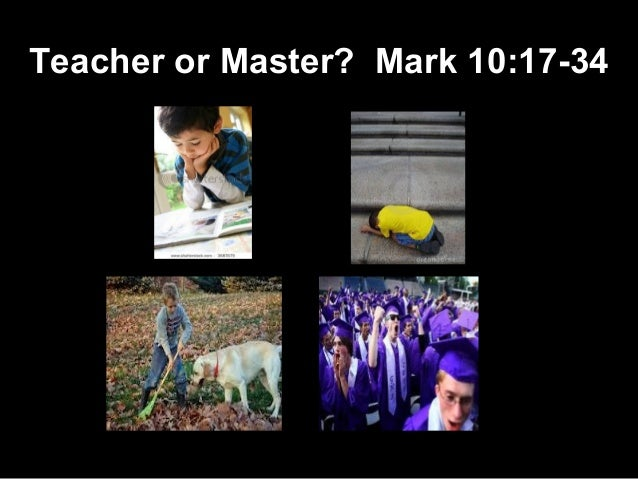 Teacher or Master?