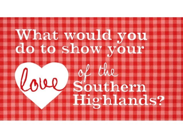What's It All About? 'My Southern Highlands' is an Innovative & Integrated Destination Program aimed at developing VFR mar...
