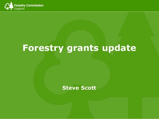 Forestry Commission Funding Update