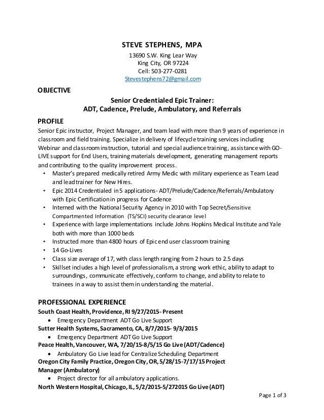 Staffing Specialist Resumes  Staffing Specialist Resume