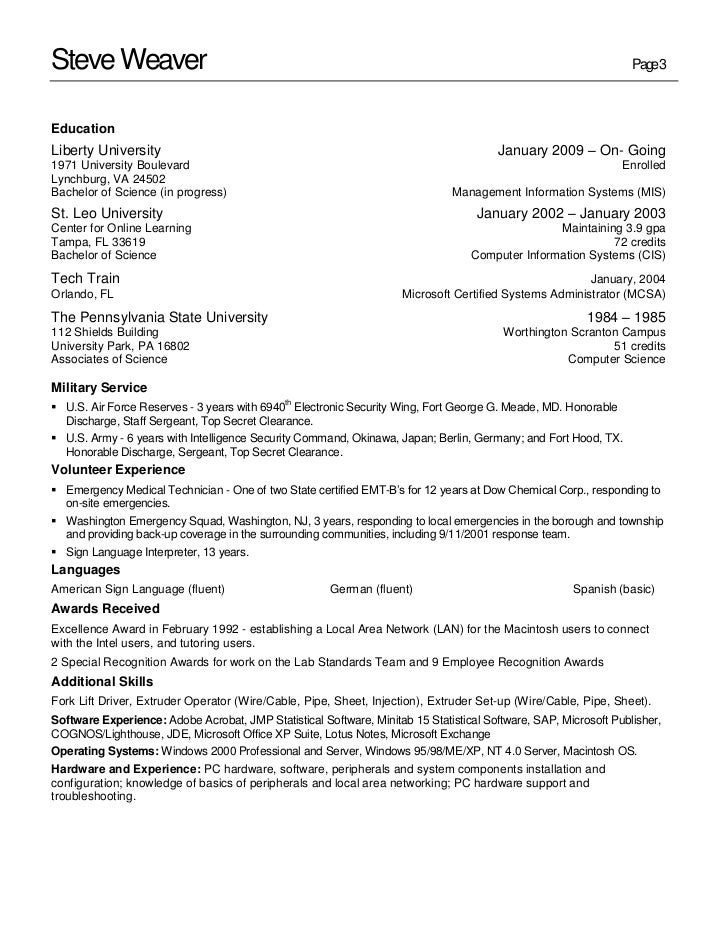 information systems management resume 28 images