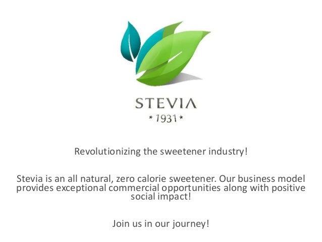 Stevia 1931 Presentation