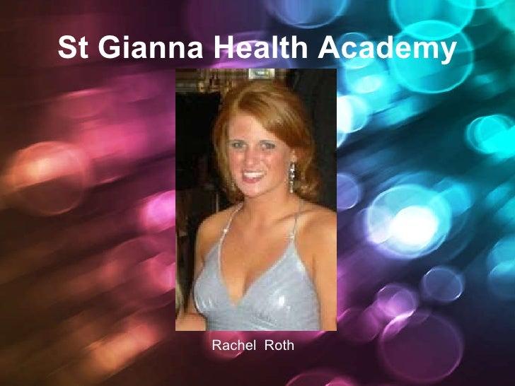 St Gianna Health Academy Powerpoint Rachel