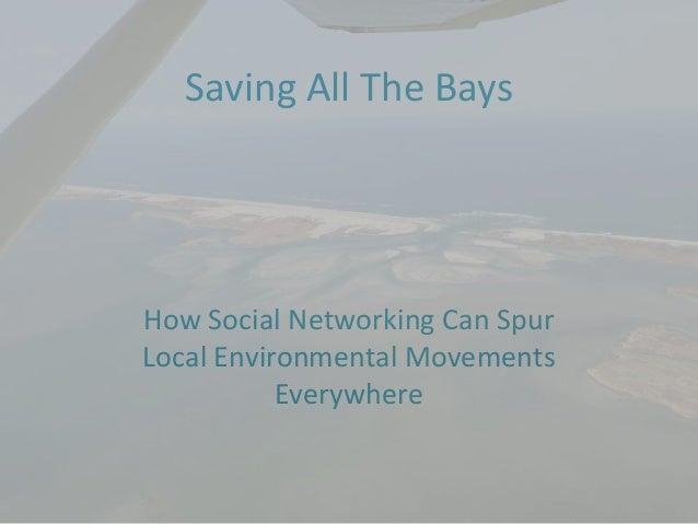 Saving All The BaysHow Social Networking Can SpurLocal Environmental MovementsEverywhere