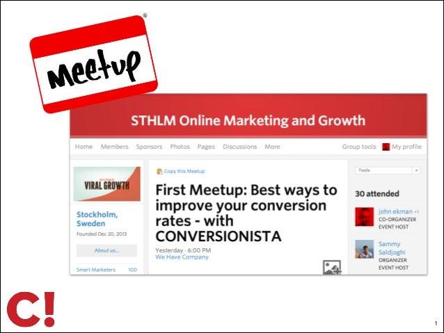 Sthlm online marketing & growth #1