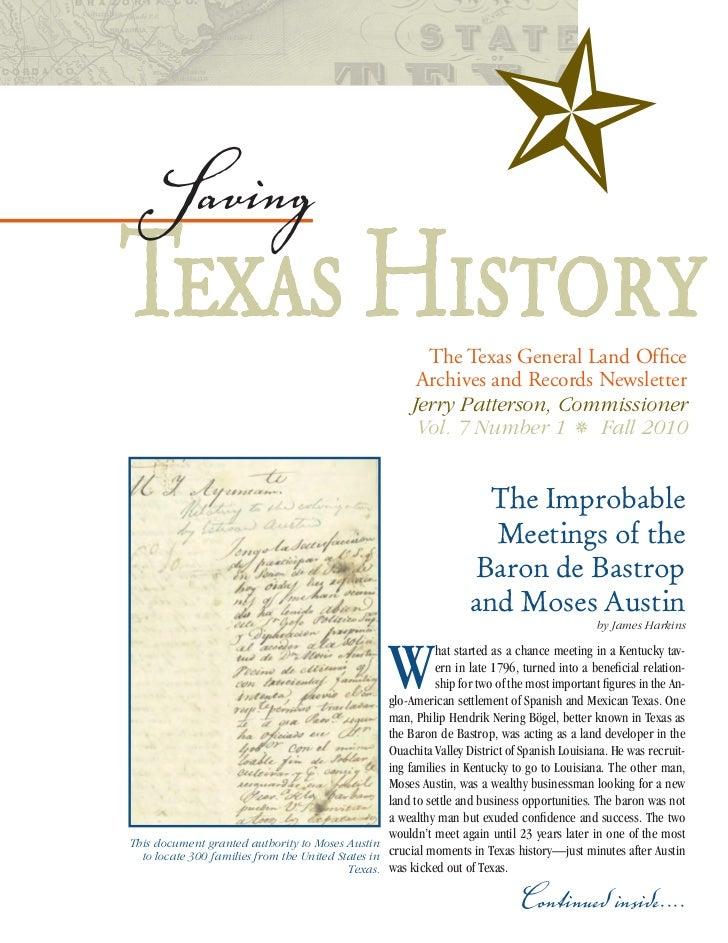Texas GLO Newsletter